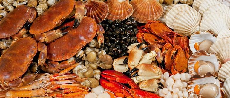 Морские деликатесы: фото, названия, цены, описание
