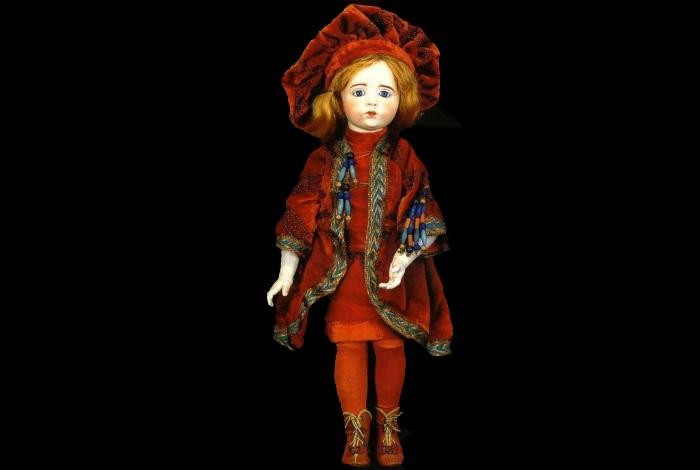 Фарфоровая кукла Альбера Марке