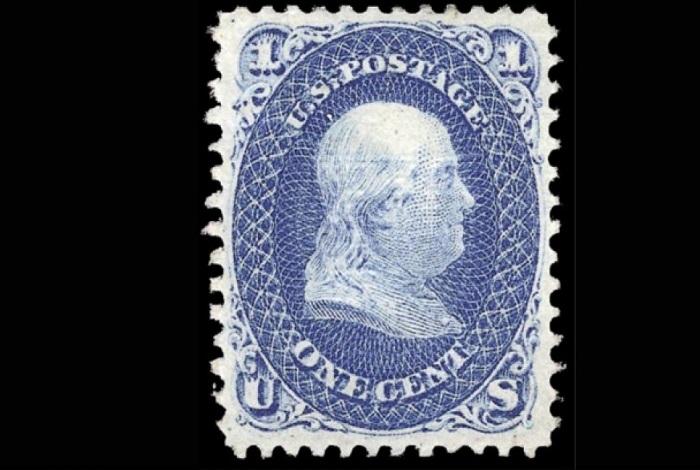 Почтовая марка Святой Грааль