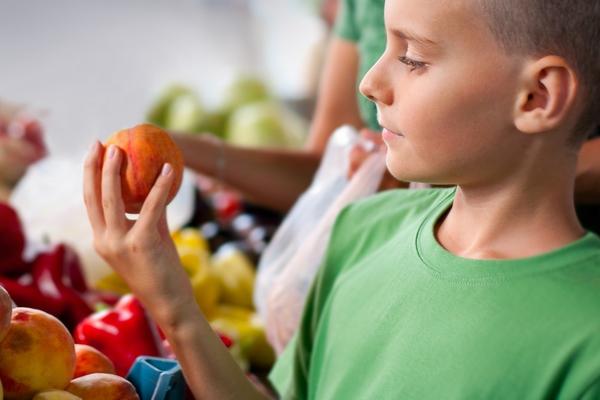 Персик для детей