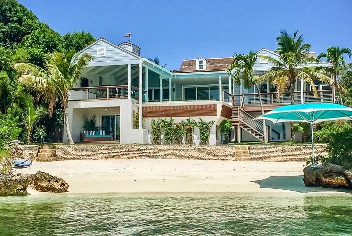 Вилла на острове Овериондер Кей (Багамские острова, США)