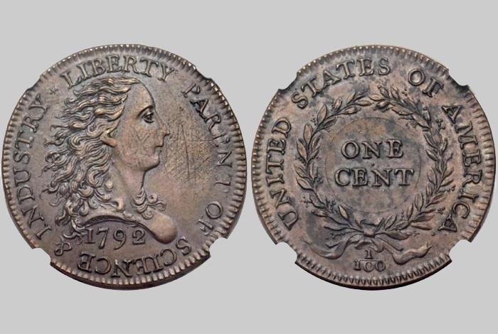 Birch cent 1792