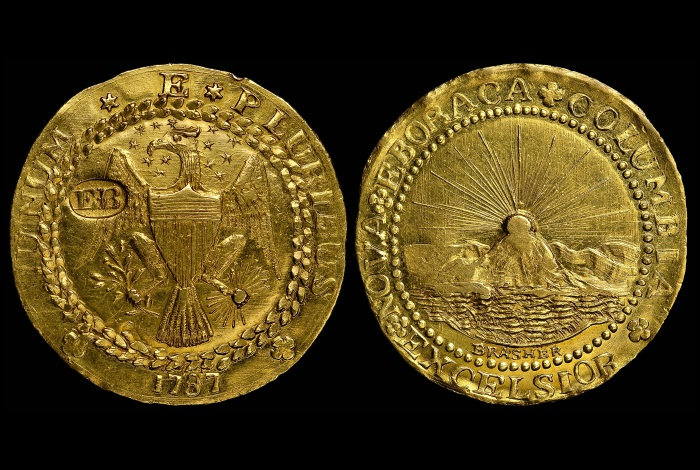 Brasher Doubloon 1787
