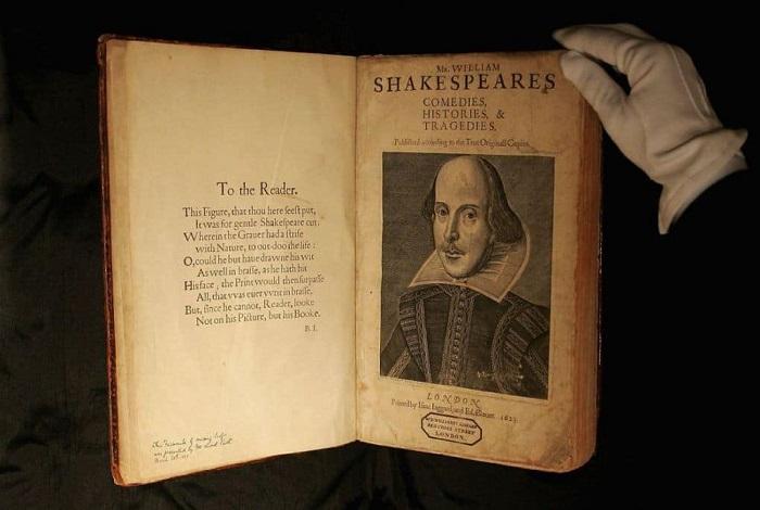 Первый фолиант Шекспира