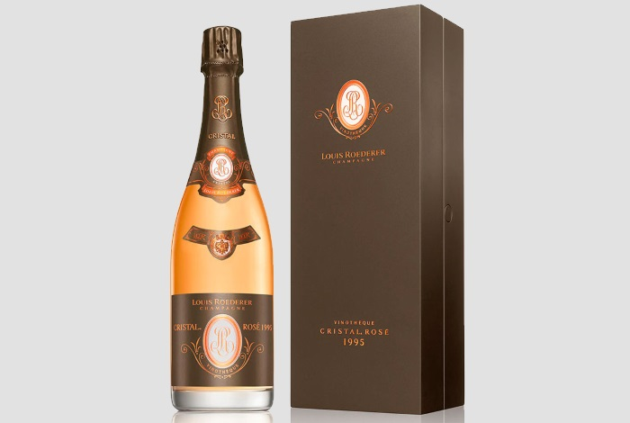 Louis Roederer Cristal Vinotheque Edition Millesime Rose Brut
