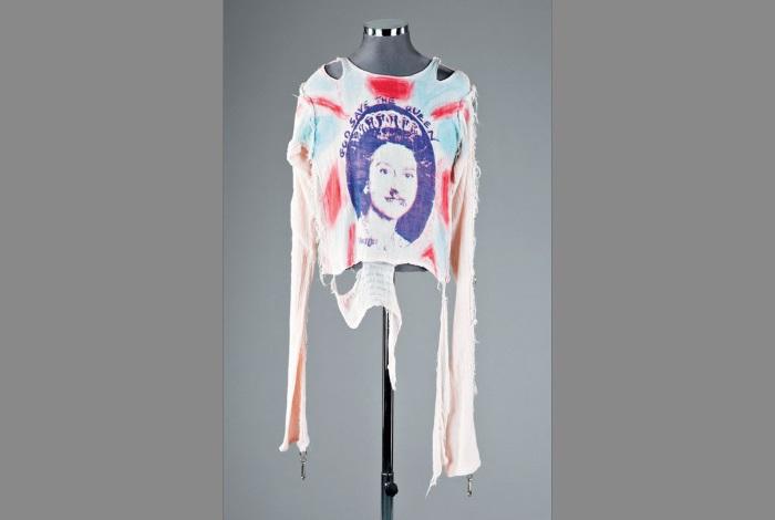Футболка «Sex Pistols» «God save the Queen» 1977