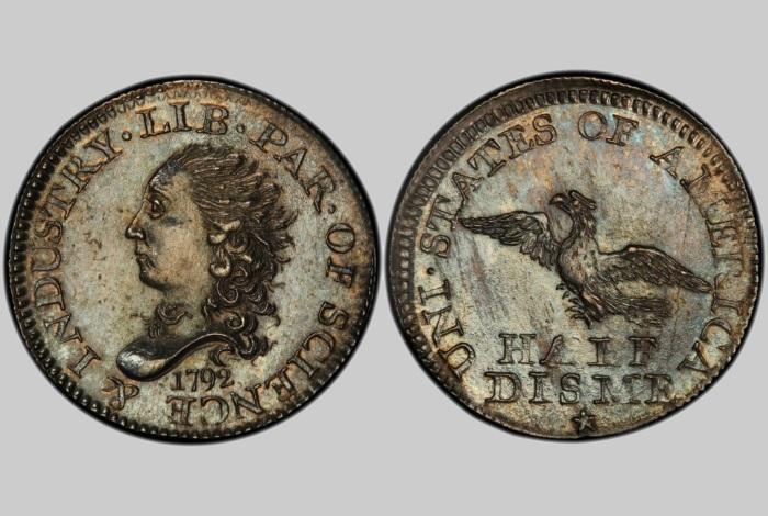 Дайм 1792