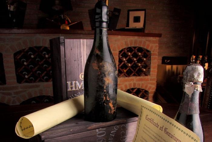 Champagne (Шампанское) Heidsieck & Co 1907 года