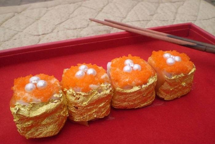 Sushi Del Oriente – суши с драгоценностями