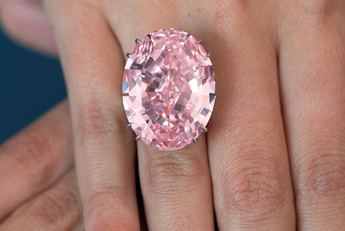 Pink Star Ring