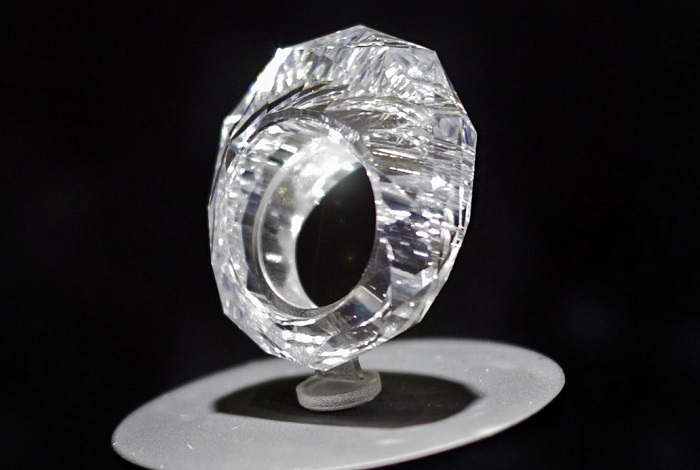 The World's Fist All Diamond Ring