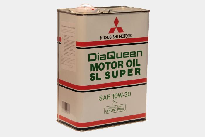 Mitsubishi Diaqueen Motor SL/CF 10w-30 4L