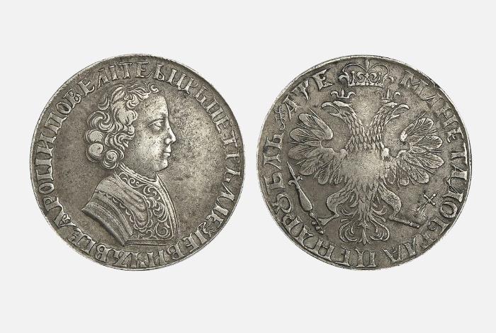 1 рубль «Польский таллер» 1726 года